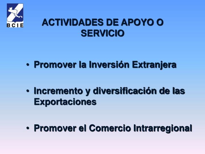 Promover la Inversión Extranjera
