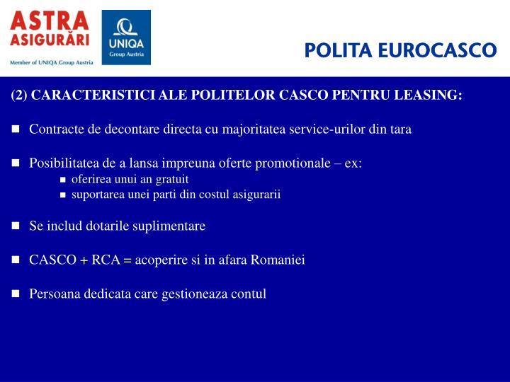 POLITA EUROCASCO
