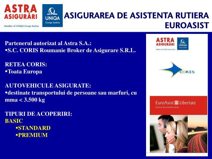 ASIGURAREA DE ASISTENTA RUTIERA