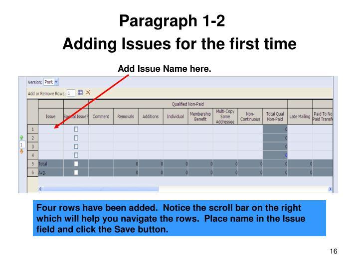 Paragraph 1-2