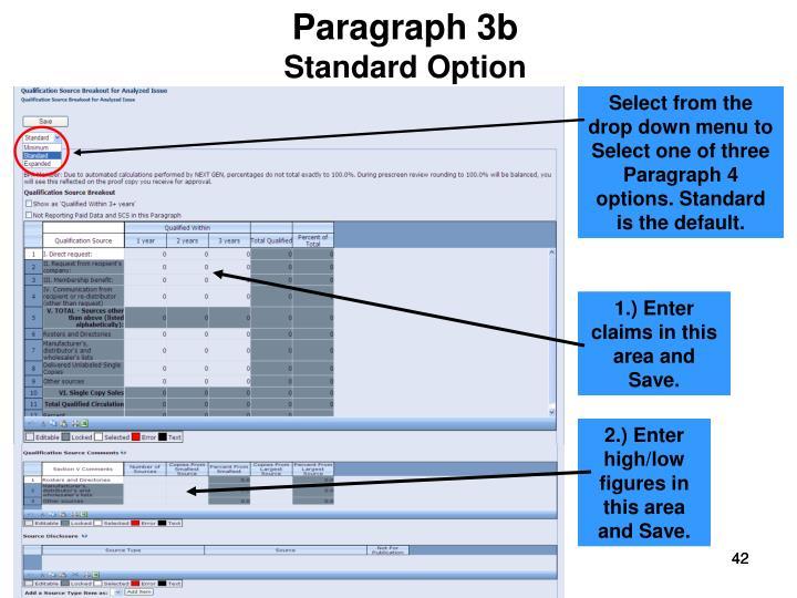 Paragraph 3b