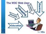 the w3c web user