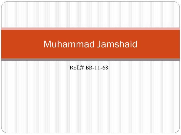 Muhammad Jamshaid