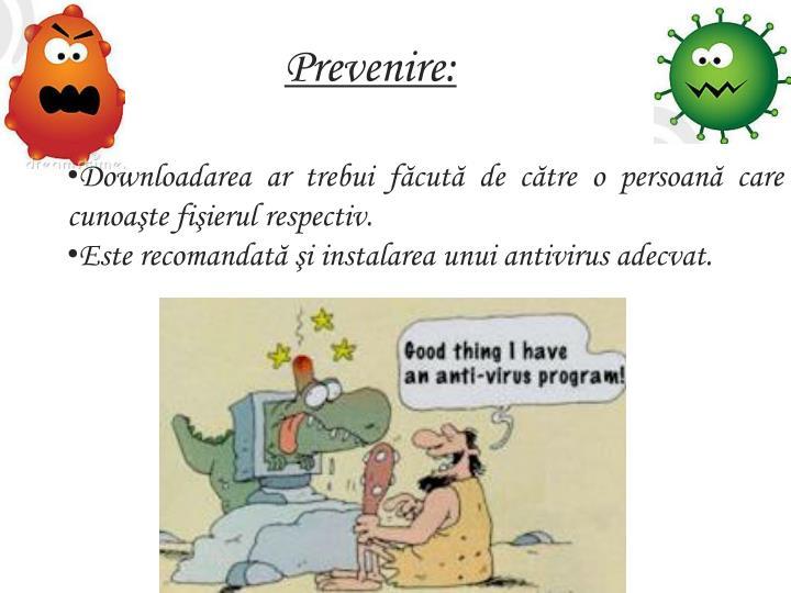 Prevenire: