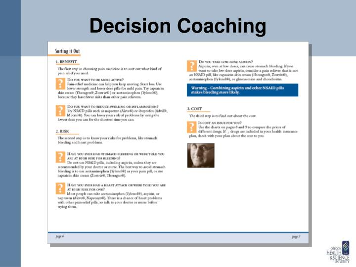 Decision Coaching