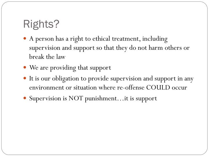 Rights?