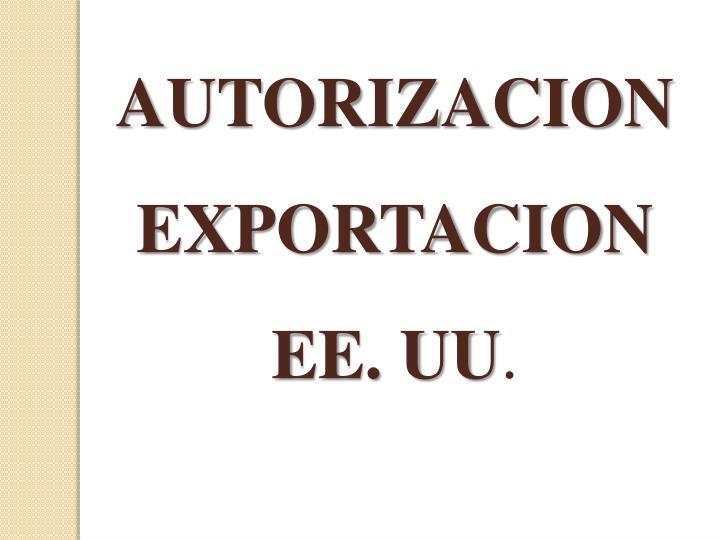 AUTORIZACION