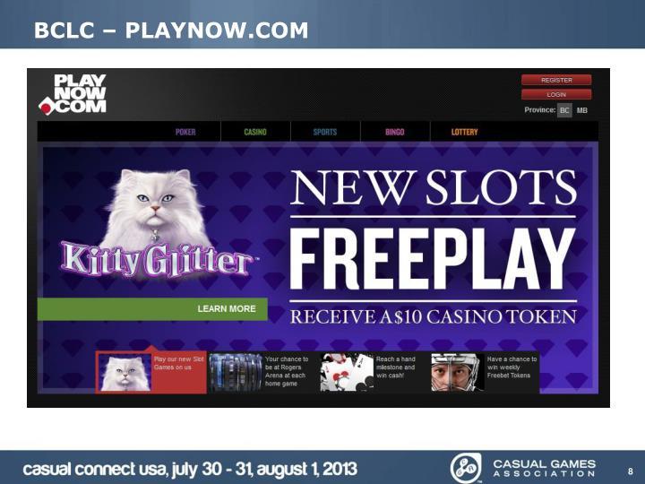 BCLC – PLAYNOW.COM