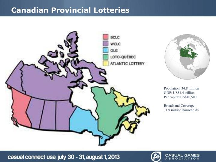 Canadian Provincial Lotteries