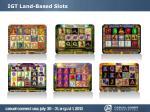 igt land based slots