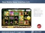 new mobile game interface v2