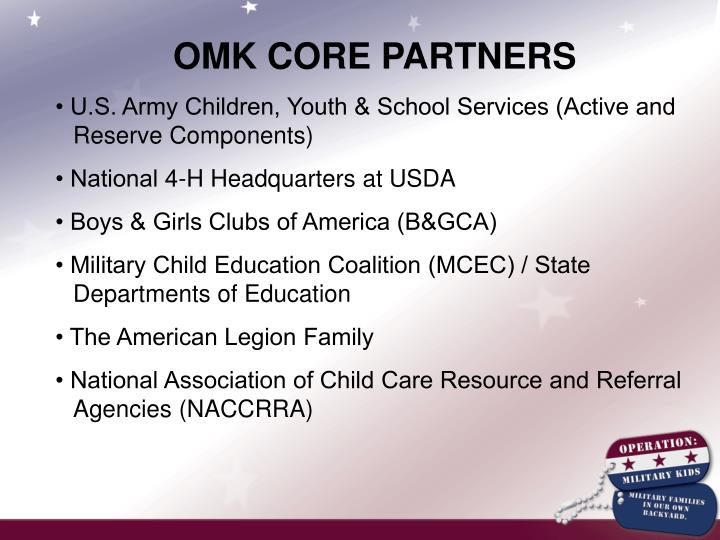 OMK CORE PARTNERS