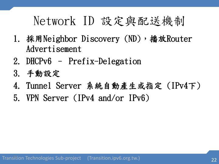 Network ID