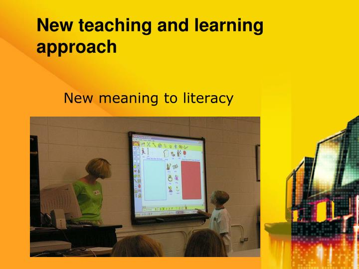 New teaching and learning approach