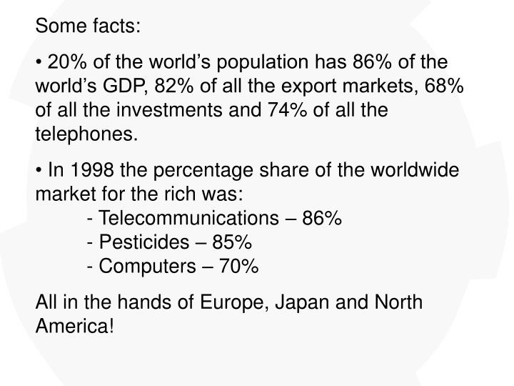 Some facts: