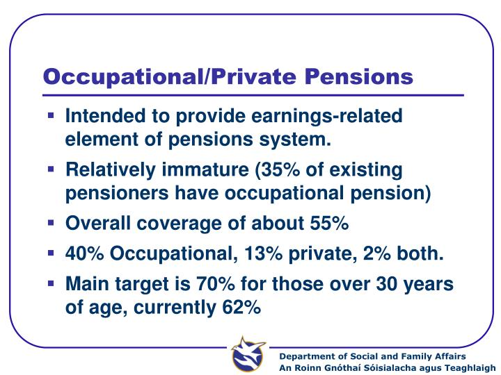 Occupational/Private Pensions