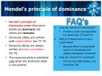 mendel s principle of dominance