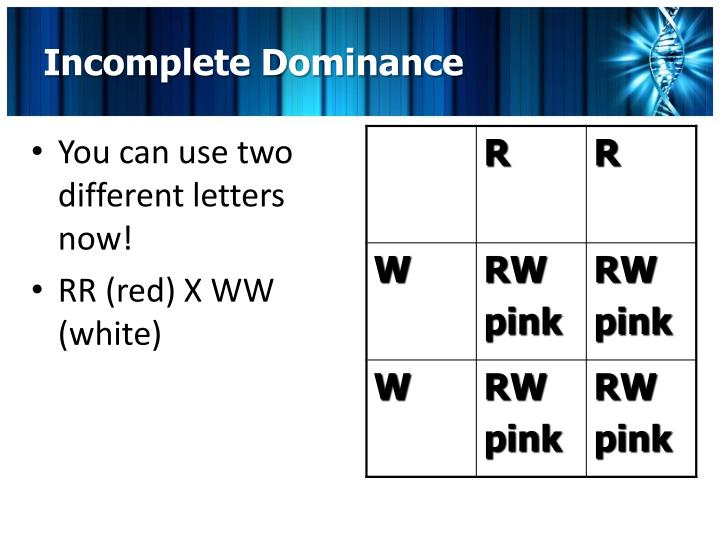 You can use two different letters now!