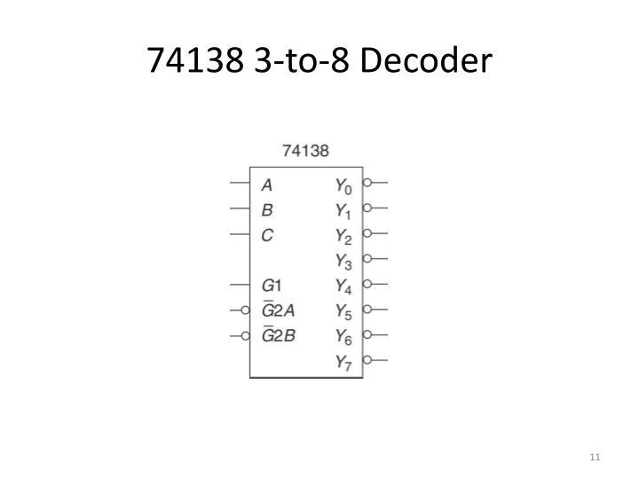 74138 3-to-8 Decoder