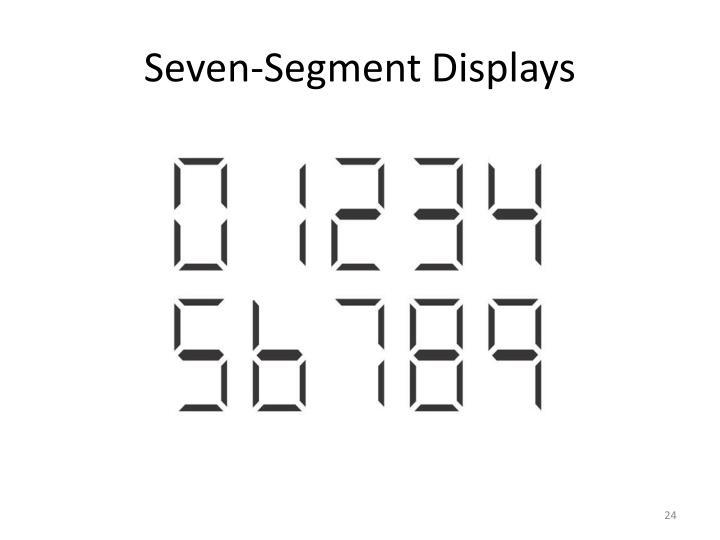 Seven-Segment Displays