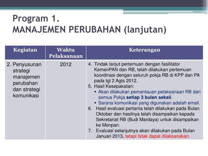 Program 1.
