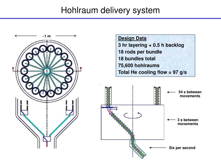 Hohlraum delivery system
