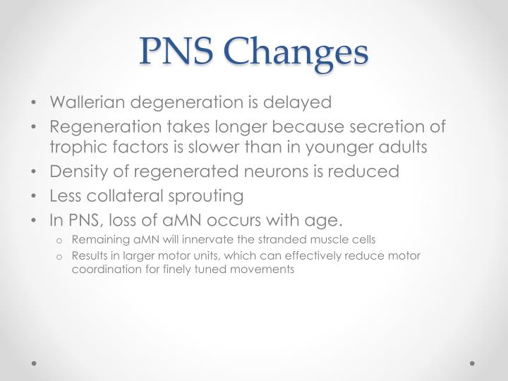 PNS Changes