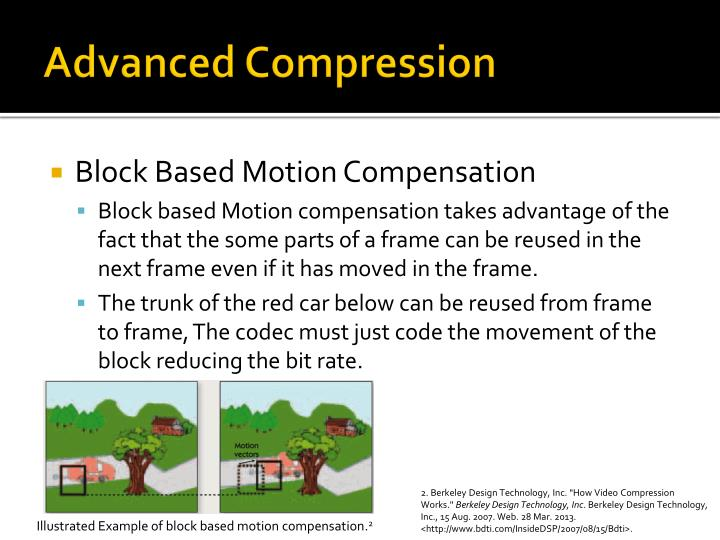 Advanced Compression