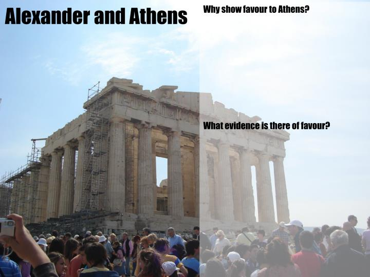 Alexander and Athens