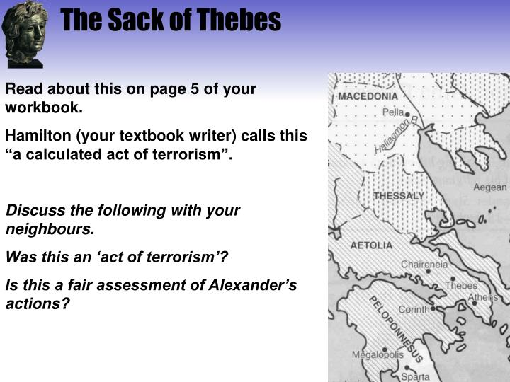 The Sack of Thebes