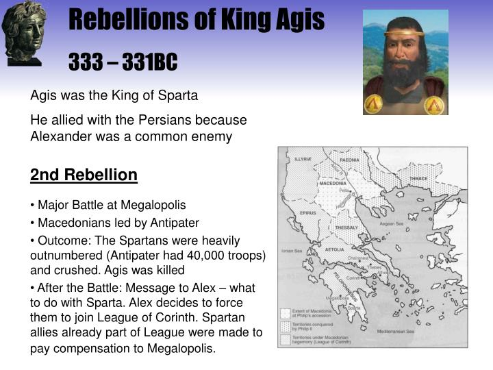 Rebellions of King Agis
