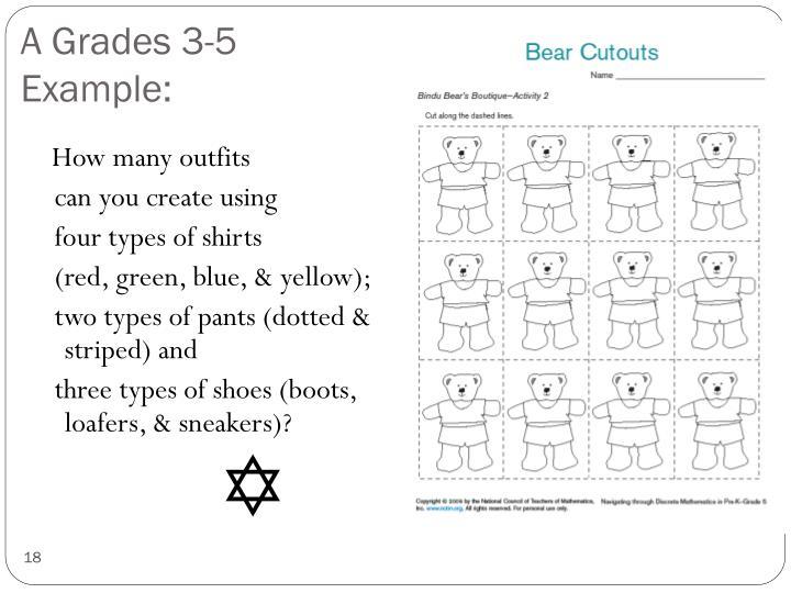 A Grades 3-5