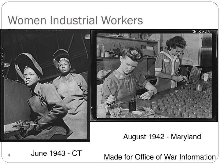 Women Industrial Workers