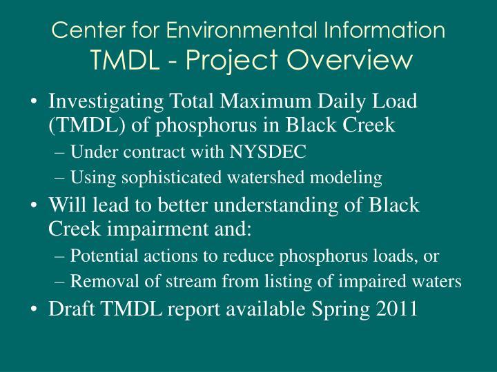 Center for Environmental Information