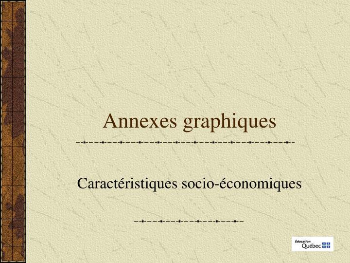 Annexes graphiques