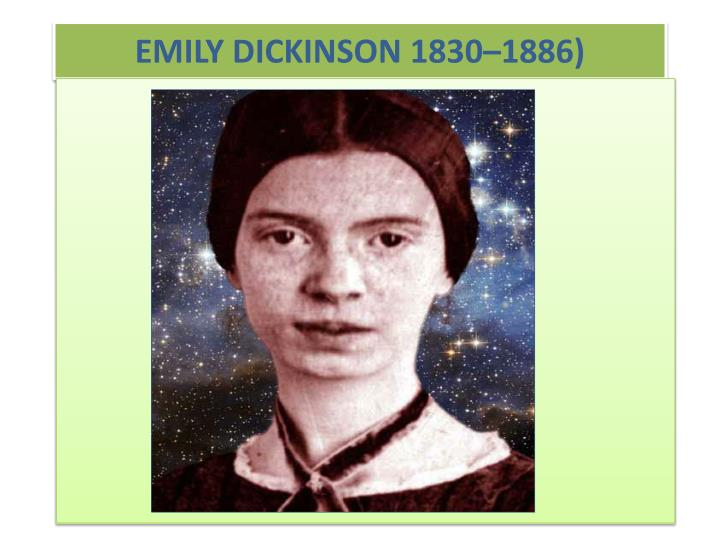 Research papers emily dickinson