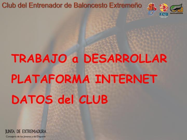 Club del Entrenador de Baloncesto Extremeño
