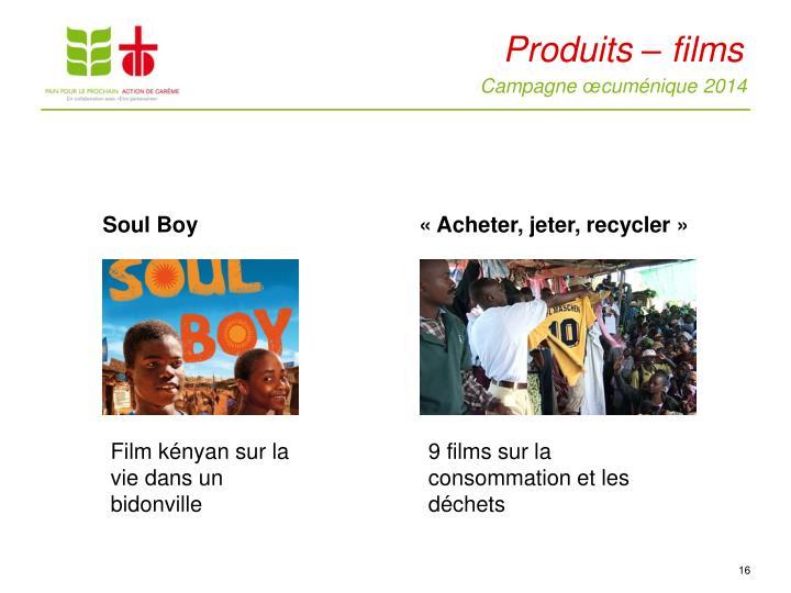 Produits – films