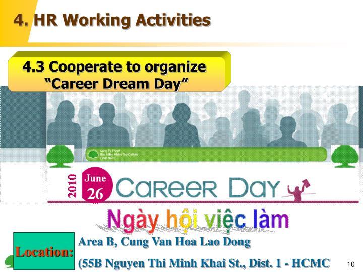 4. HR Working Activities