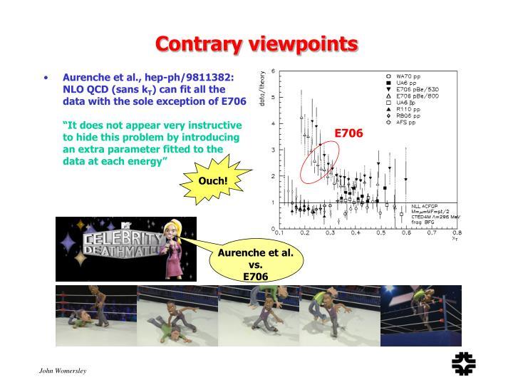 Aurenche et al., hep-ph/9811382: NLO QCD (sans k