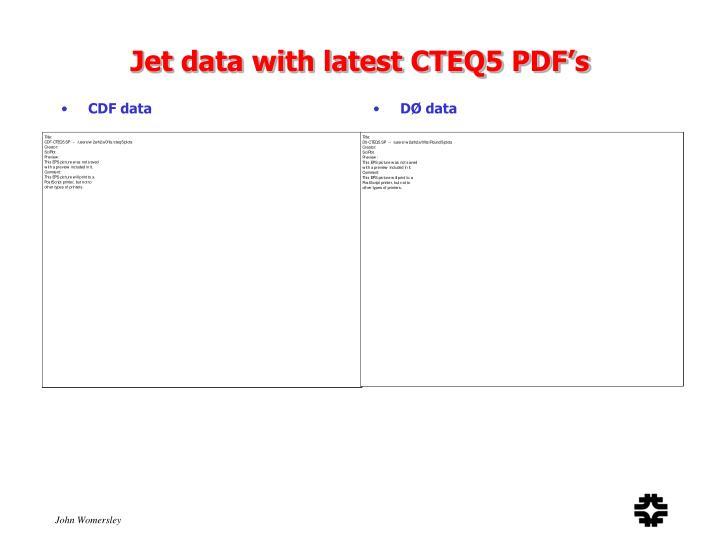 CDF data