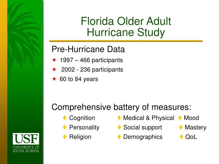 Florida Older Adult