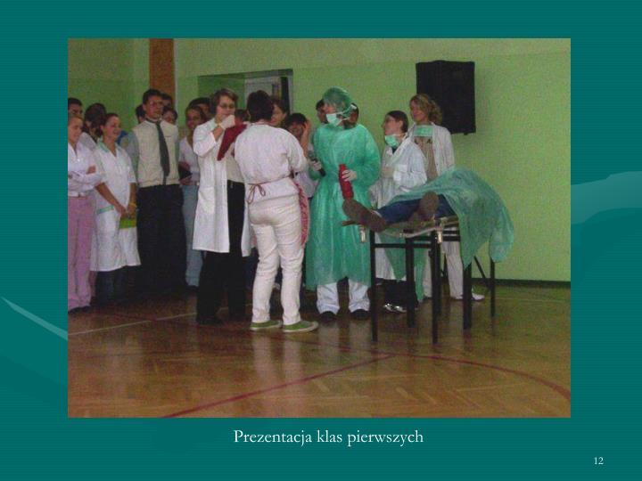 Prezentacja klas pierwszych