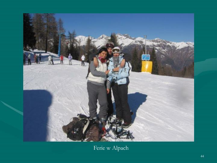Ferie w Alpach