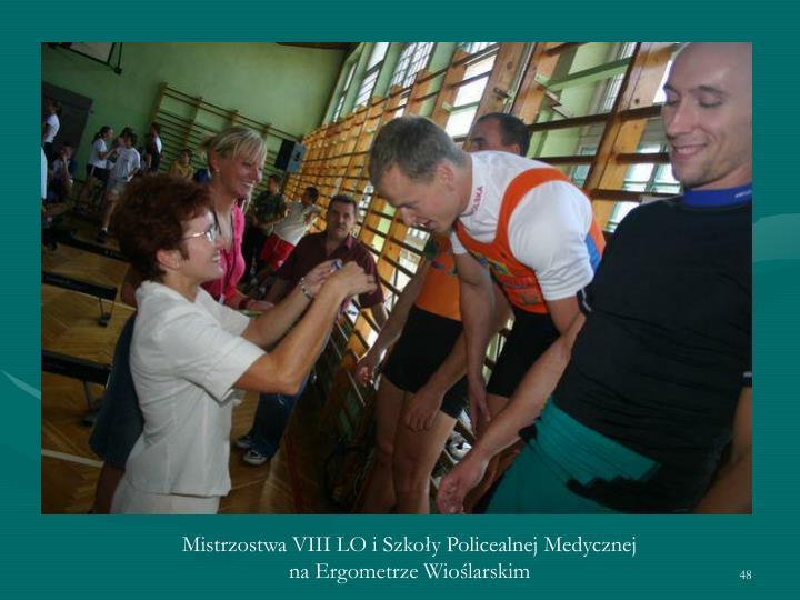 Mistrzostwa VIII LO i Szkoły Policealnej Medycznej