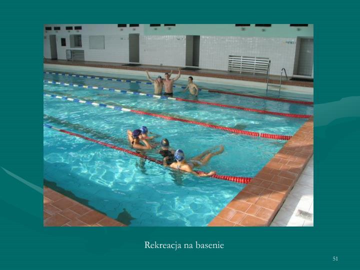 Rekreacja na basenie