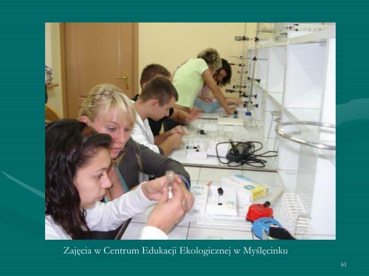 Zajęcia w Centrum Edukacji Ekologicznej w Myślęcinku