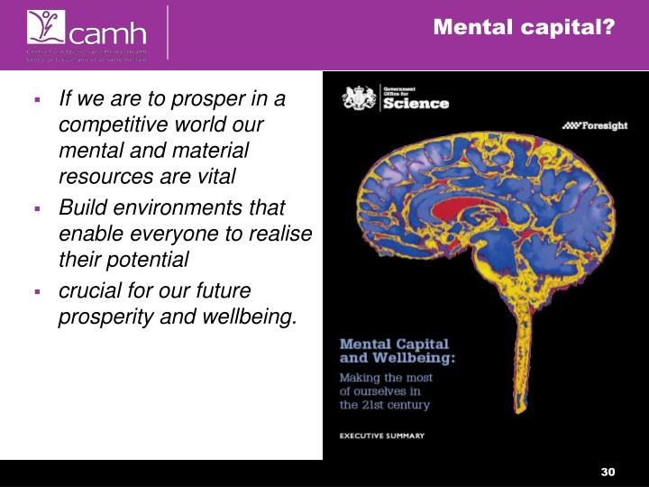 Mental capital?