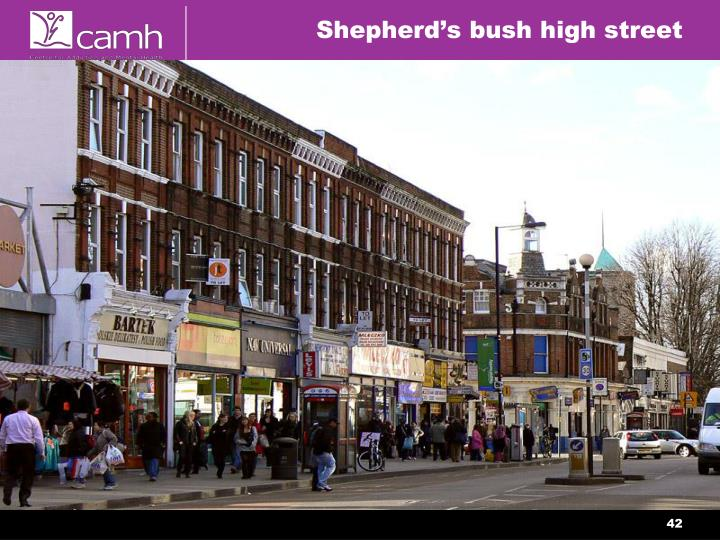 Shepherd's bush high street