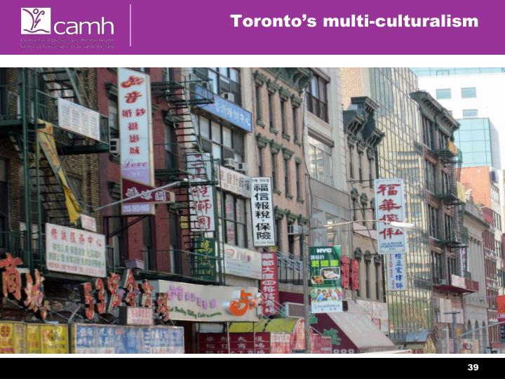 Toronto's multi-culturalism